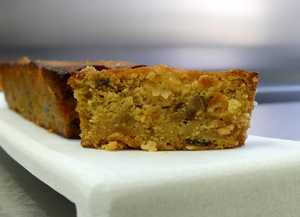 Traditional plum cake