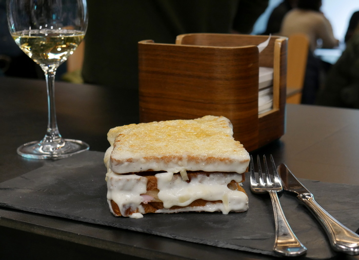 W700 sandwich croque madame