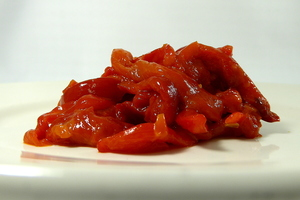 Red peppers stew