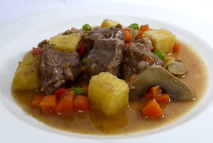 Veal ragout