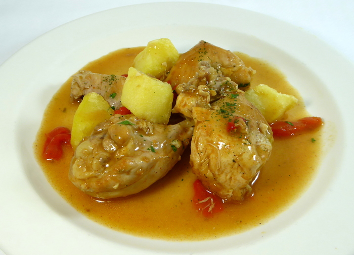 Pollo Al Chilindrón Gastronomía Vasca Escuela De