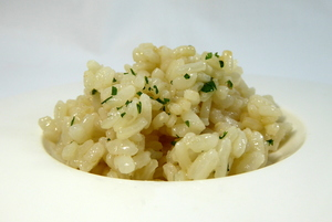 Rice pilaf with fumet