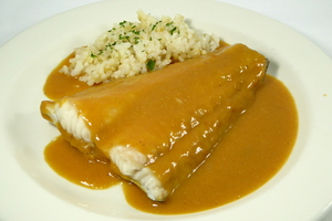 Whiting in american sauce