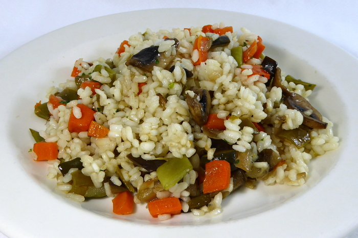 W700 arroz vegetariano