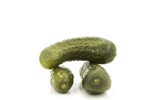 Gherkins in vinegar