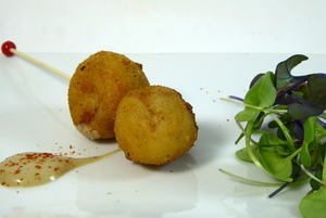 LUNCH squids croquettes
