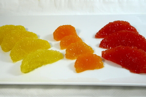 Citric supremes (segments)