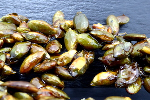 Caramelised pumpkin seeds