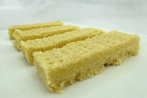 Shortbread scottish cookies