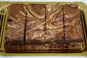 Brownie de praliné