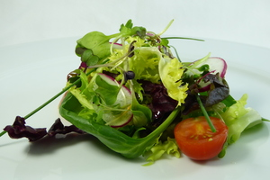 Bouquetiere of fresh vegetables