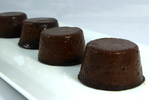 Chocolate curdle