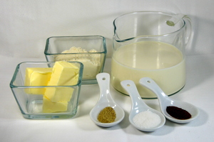 Bechamel sauce for croquettes (140x140)