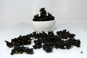 Caramelised black sesame