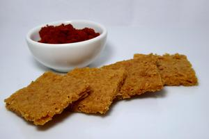 Cayenne and salt shortbread