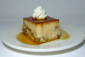 Apple puding