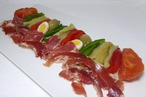 Escalivada (Catalan grilled vegetable salad)