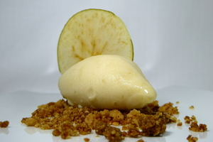 """Reineta"" apple sherbet"