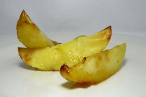 Wedge-shaped potatoes