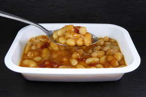 Vegan white beans stew