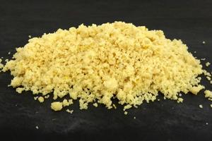 Ginger and lemon streusel (crumble)