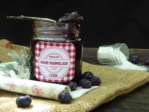 Cranberries and aronia jam