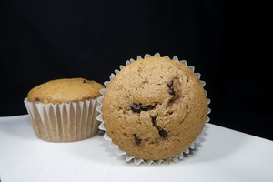 Cheese and chocolate muffins