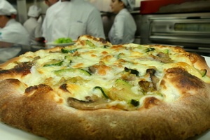 Alkatene restaurant´s pizza