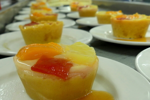 Assorted fruits tartlet