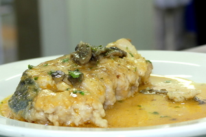 Albacore fricassee