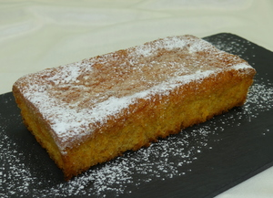 Carrot and pumpkin sponge cake