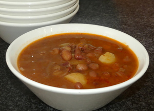 Red kidney beans stew