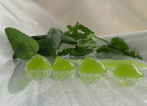 Aromatic herb gel