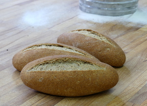 Pan integral de grano entero